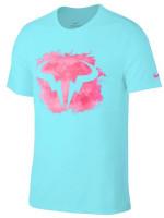 Męski T-Shirt Nike Court M Rafa Tee DB - polarized blue
