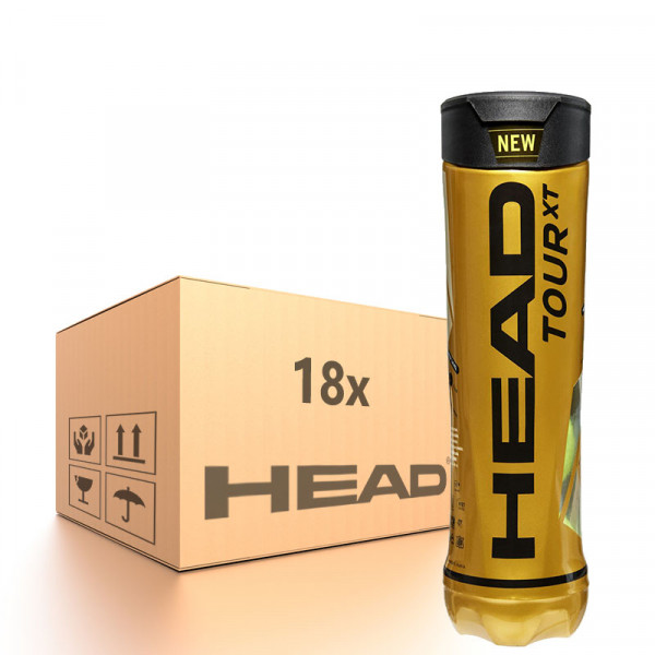 Teniso kamuoliukų dėžė Head Tour XT - 18 x 4B