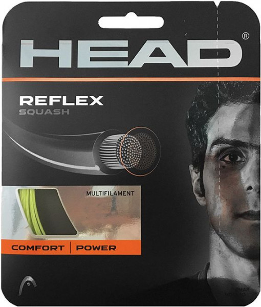 Naciąg do squasha Head Reflex (10 m) - yellow