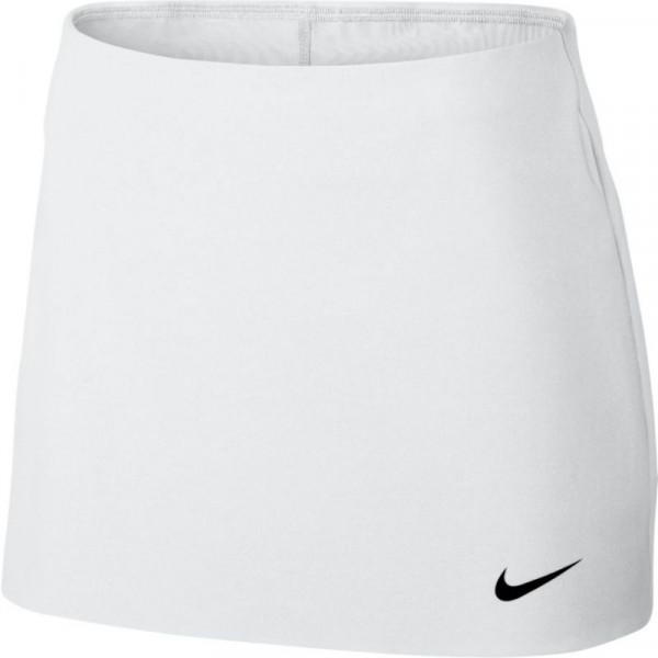 Nike Court Power Spin Tennis Skirt - white/black