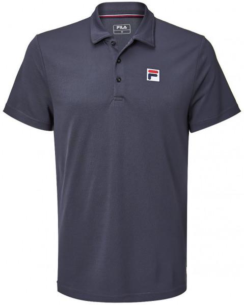 Tenisa polo krekls vīriešiem Fila Polo Maurice M - black melange