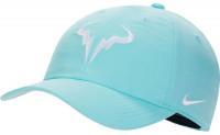 Czapka tenisowa Nike Rafa U Aerobill H86 Cap - light aqua/white