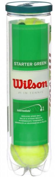 Teniso kamuoliukai pradedantiesiems Wilson Starter Play - 4 vnt.