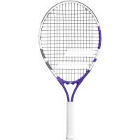 Tenisa rakete bērniem Babolat Wimbledon Junior 23 - white/purple