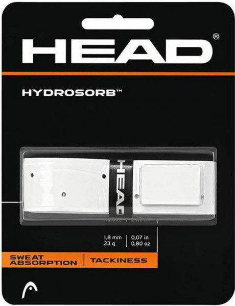 Owijka Tenisowa Head Hydrosorb (1 szt.) - biała-