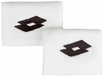 Znojnik za ruku Lotto Ace II Wristband - white/black