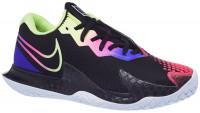 Damskie buty tenisowe Nike W Air Zoom Vapor Cage 4 - black/liquid lime/fierce perple
