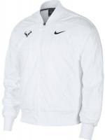 Męska bluza tenisowa Nike Court Rafa Jacket - white/black