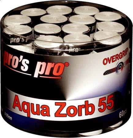 Viršutinės koto apvijos Pro's Pro Aqua Zorb 55 (60 vnt.) - white
