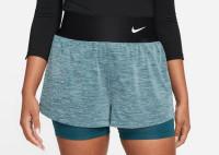 Ženske kratke hlače Nike Court Dri-Fit Advantage Short W - dark teal green/dark teal green/white
