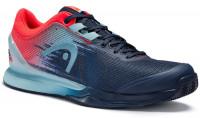 Teniso batai vyrams Head Sprint Pro 3.0 Clay Men - dress blue/neon red