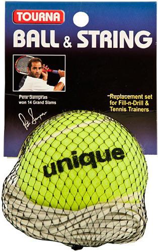 Piłka na gumce Tourna Ball & String for Fill & Drill