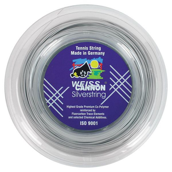 Teniso stygos Weiss Cannon Silverstring (200 m)