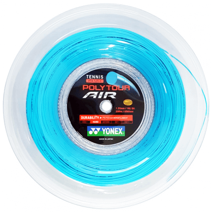 Naciąg tenisowy Yonex Poly Tour Air (200 m) - sky blue