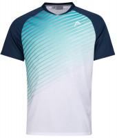 Teniso marškinėliai vyrams Head Performance T-Shirt M - turquoise/print performance