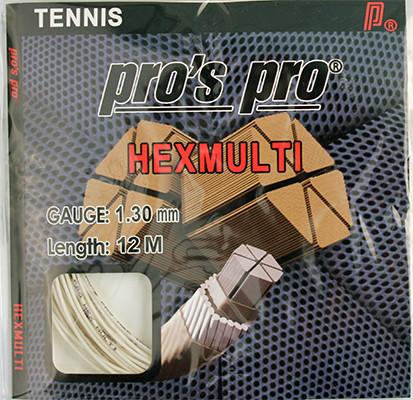 Tennisekeeled Pro's Pro Hexmulti (12 m)