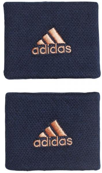 Adidas Wristbands S (OSFM) - collegiate navy/chalk coral