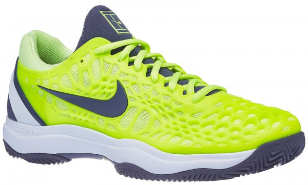 39485b385b5 Men's shoes Nike Air Zoom Cage 3 Clay - volt glow/light carbon/white