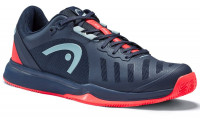 Teniso batai vyrams Head Sprint Team 3.0 2021 Clay Men - dark blue/neon red