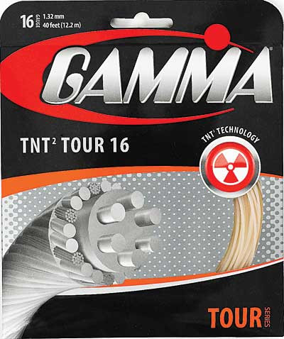 Tenisa stīgas Gamma TNT2 Tour 16 (12,2 m)