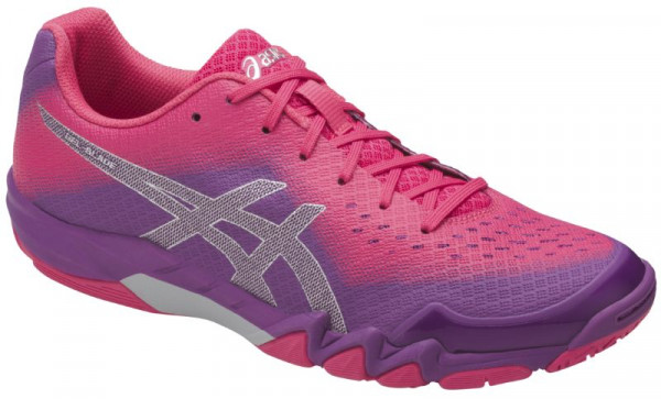 Women's squash shoes Asics Gel-Blade 6 - orchid/prune/rouge red