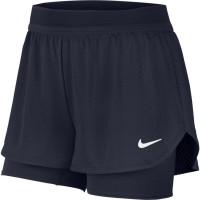 Damskie spodenki tenisowe Nike Court W Dry Flex Elevated Essential Short - obsidian/obsidian/white
