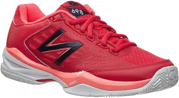 Sieviešu tenisa apavi New Balance WC896RC - red/cherry