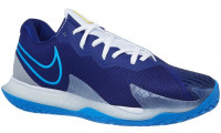 Vīriešiem tenisa apavi Nike Air Zoom Vapor Cage 4 - deep royal blue/coast/white