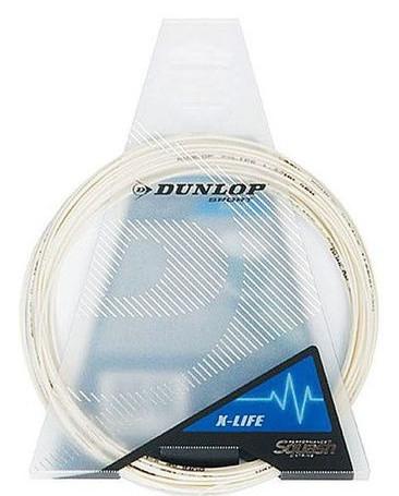 Skvošo stygos Dunlop X-Life (10 m) - white