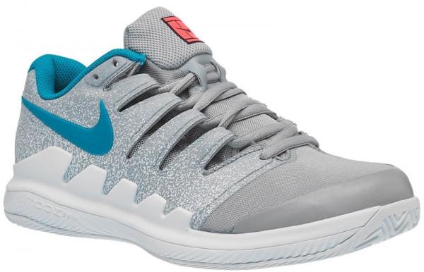 Damskie buty tenisowe Nike WMNS Air Zoom Vapor X Clay - wolf grey/hot lava/white