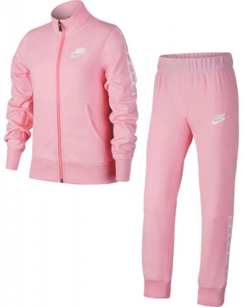 Nike NSW Track Suit Tricot - pink/pink/white