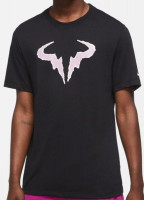 Męski T-Shirt Nike Court Rafa Tee - black/purple