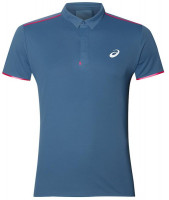 Męskie polo tenisowe Asics Gel-Cool Performance Polo - azure