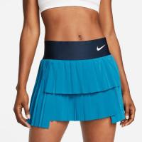 Ženska teniska suknja Nike Court Dri-Fit Advantage Skirt Pleated W - brigade blue/obsidian/white
