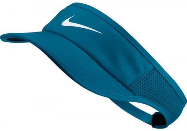 Nike Aerobill Feather Light Visor - neo turquoise/black/white