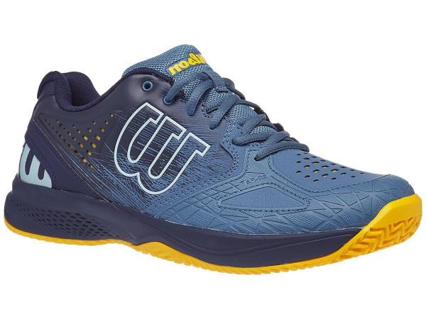 Męskie buty tenisowe Wilson Kaos Comp 2.0 - copen blue/peacoat/gold fusion