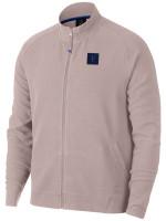 Męska bluza tenisowa Nike Court Jacket Essential RF - particle rose/gridiron