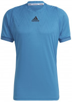 Muška majica Adidas Tennis Freelift T-Shirt Primeblue M - sonic aqua