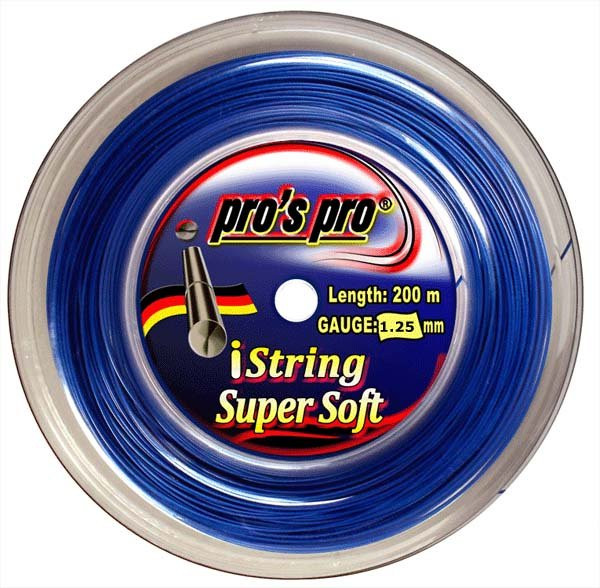 Teniso stygos Pro's Pro iString Super Soft (200 m) - blue