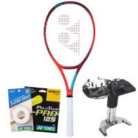 Rakieta tenisowa Yonex VCORE 98L (285g) - tango red + naciąg + usługa serwisowa