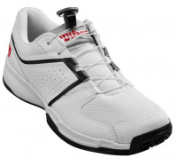 Męskie buty tenisowe Wilson Tour Slam - white/black/wilson red