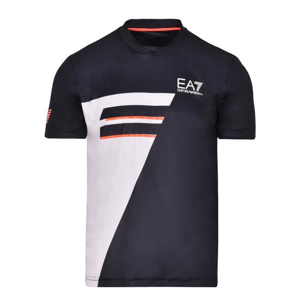 Teniso marškinėliai vyrams EA7 Man Jersey T-Shirt - night blue