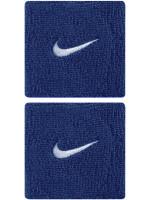 Nike Swoosh Wristbands - royal blue/white