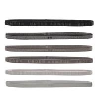 Under Armour Heather Mini Headband (6pk) - gray