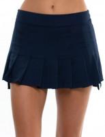 Tenisa svārki sievietēm Lucky in Love Techno Tropic High-Low Pleated Skirt Women - midnight