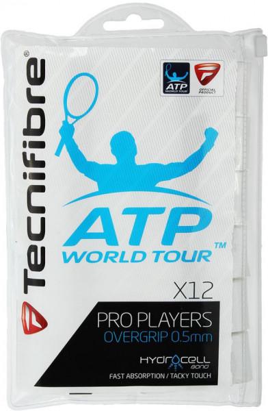 Owijki tenisowe Tecnifibre Pro Player's 12P - white