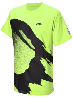 Męski T-Shirt Nike Court Tee Challenge Fireball - cyber