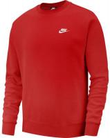 Męska bluza tenisowa Nike Swoosh Club Crew M - university red/white