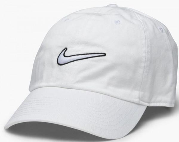Tenisa cepure Nike H86 Essential Swoosh Cap - white/white