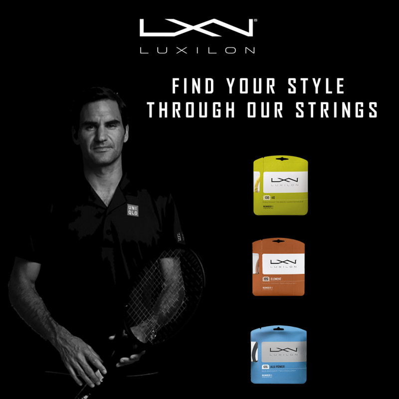 Find your style through our strings Luxilon